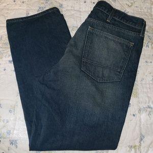 Never worn 40x30 men's dark rinse jeans